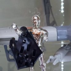 Figuras y Muñecos Star Wars: C-3PO C3PO C3-PO REMOVIBLE LIMBS + RED ORIGINAL - STAR WARS VINTAGE KENNER LFL 1982 MELTED COO. Lote 266552108