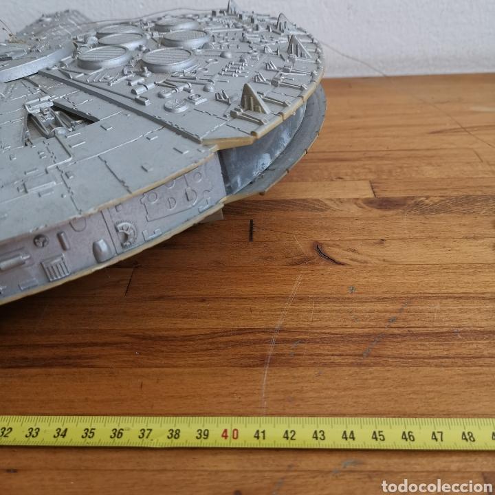 Figuras y Muñecos Star Wars: Nave maqueta de plástico de Star Wars. El Halcón Milenario. - Foto 2 - 276912428