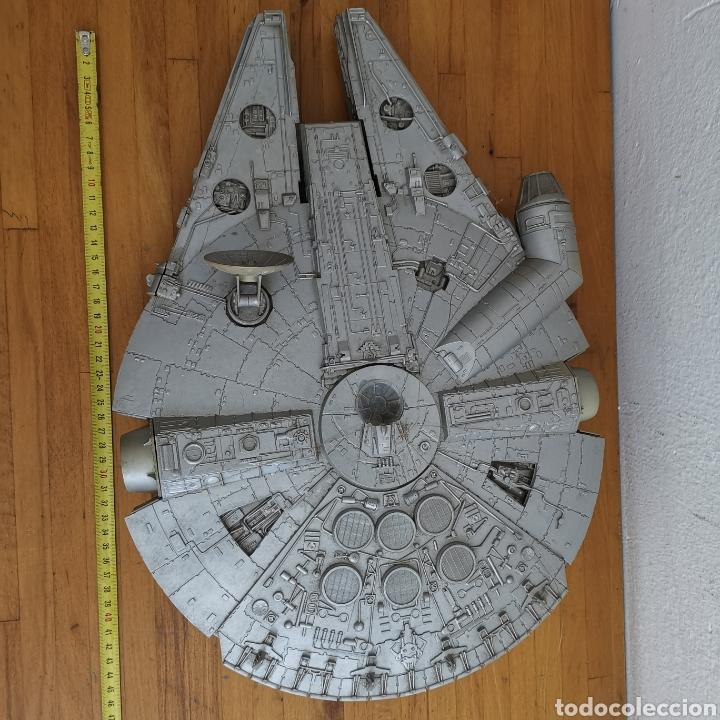 Figuras y Muñecos Star Wars: Nave maqueta de plástico de Star Wars. El Halcón Milenario. - Foto 3 - 276912428