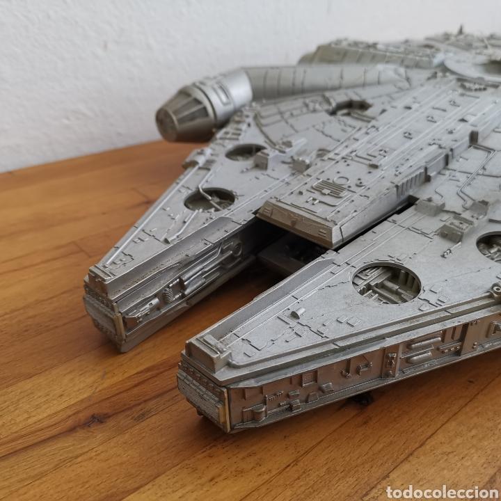 Figuras y Muñecos Star Wars: Nave maqueta de plástico de Star Wars. El Halcón Milenario. - Foto 4 - 276912428