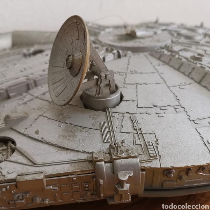 Figuras y Muñecos Star Wars: Nave maqueta de plástico de Star Wars. El Halcón Milenario. - Foto 5 - 276912428