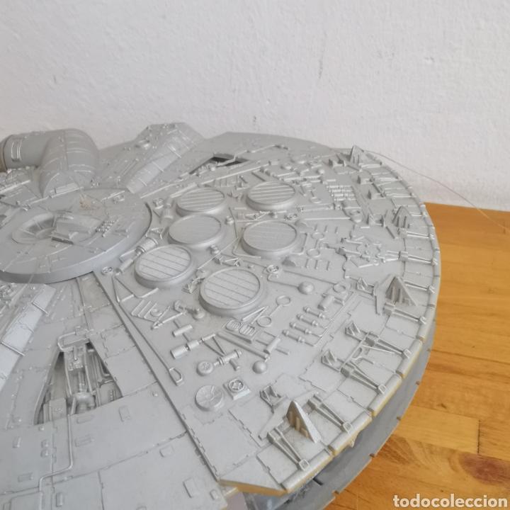 Figuras y Muñecos Star Wars: Nave maqueta de plástico de Star Wars. El Halcón Milenario. - Foto 7 - 276912428