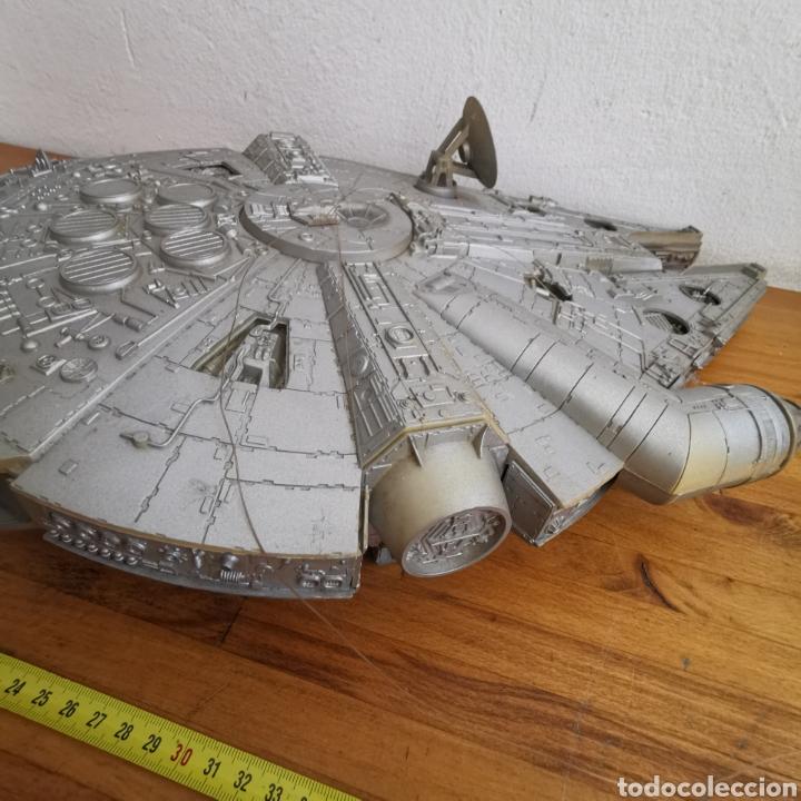Figuras y Muñecos Star Wars: Nave maqueta de plástico de Star Wars. El Halcón Milenario. - Foto 9 - 276912428