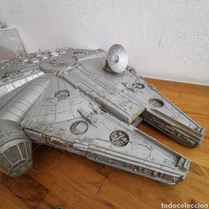 Figuras y Muñecos Star Wars: Nave maqueta de plástico de Star Wars. El Halcón Milenario. - Foto 10 - 276912428