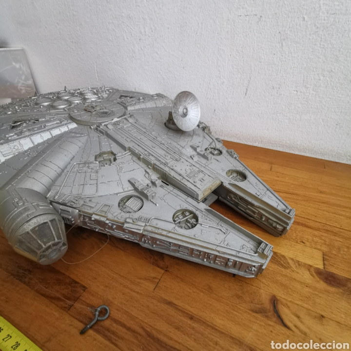 Figuras y Muñecos Star Wars: Nave maqueta de plástico de Star Wars. El Halcón Milenario. - Foto 11 - 276912428