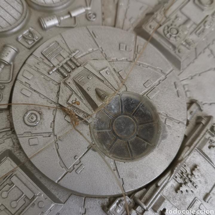 Figuras y Muñecos Star Wars: Nave maqueta de plástico de Star Wars. El Halcón Milenario. - Foto 12 - 276912428
