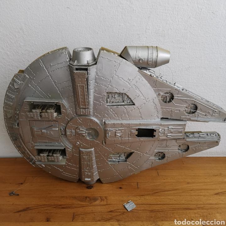 Figuras y Muñecos Star Wars: Nave maqueta de plástico de Star Wars. El Halcón Milenario. - Foto 14 - 276912428