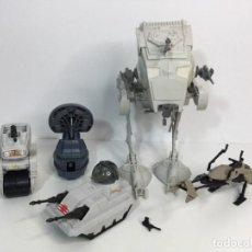 Figuras y Muñecos Star Wars: STAR WARS LOTE NAVES LA GUERRA DE LAS GALAXIAS KENNER POCH PBP ORIGINALES AÑOS 80. Lote 276921028
