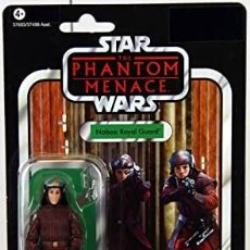 Figuras y Muñecos Star Wars: STAR WARS VINTAGE THE COLLECTION NABOO ROYAL GUARD VC 83. Lote 277090483