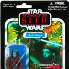 Figuras y Muñecos Star Wars: STAR WARS VINTAGE THE COLLECTION AAYLA SECURA VC 58. Lote 277095503