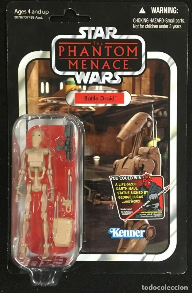 STAR WARS VINTAGE THE COLLECTION BATTLE DROID VC 78 (NUEVA SIN ABRIR) (Juguetes - Figuras de Acción - Star Wars)