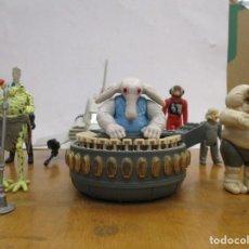 Figuras y Muñecos Star Wars: STAR WARS - REBO BAND + NAVE IMPERIAL + FIGURAS - TODO ORIGINAL DE EPOCA. Lote 278834638