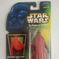 Figuras y Muñecos Star Wars: STAR WARS EMPEROR'S ROYAL GUARD THE POWER OF THE FORCE BLISTER SIN ABRIR KENNER. Lote 278921588