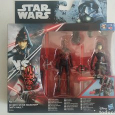 Figuras y Muñecos Star Wars: STAR WARS SEVENTH SISTER INQUISITOR VS DARTH MAUL BLISTER SIN ABRIR HASBRO. Lote 278923638