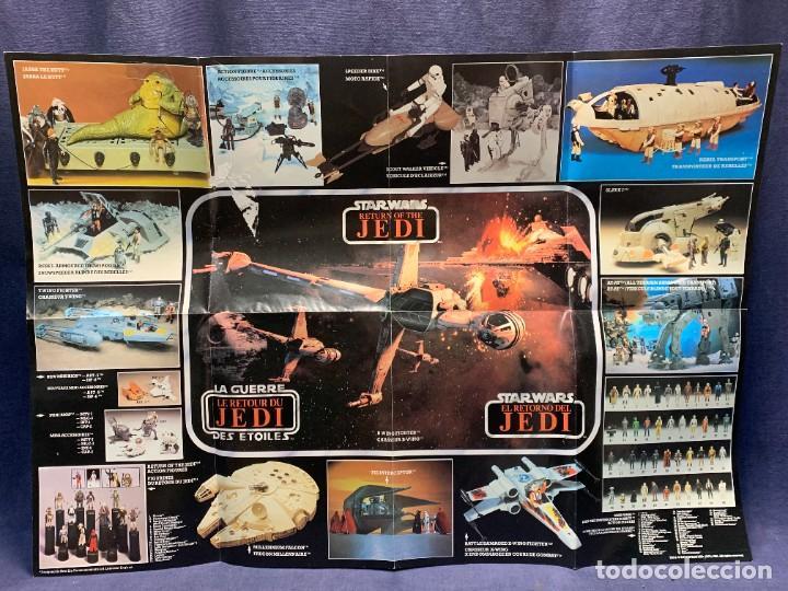 Figuras y Muñecos Star Wars: LOTE INSTRUCCIONES MILLENNIUM FALCON SCOUT WALKER VEHICLE CATALOGO POSTER RETURN OF THE JEDI 1983 - Foto 2 - 285239693