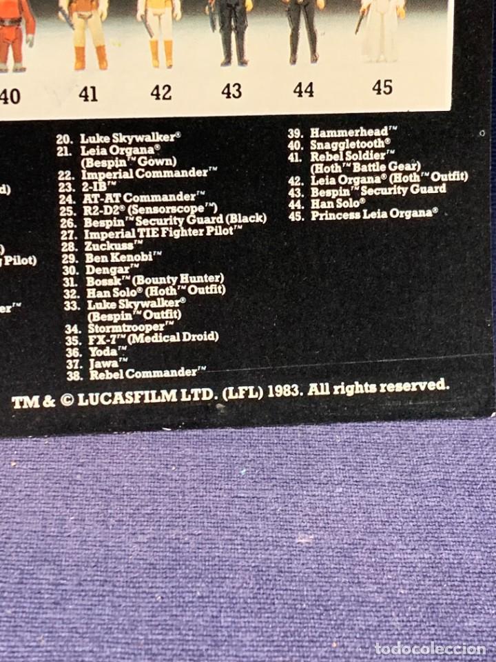 Figuras y Muñecos Star Wars: LOTE INSTRUCCIONES MILLENNIUM FALCON SCOUT WALKER VEHICLE CATALOGO POSTER RETURN OF THE JEDI 1983 - Foto 3 - 285239693