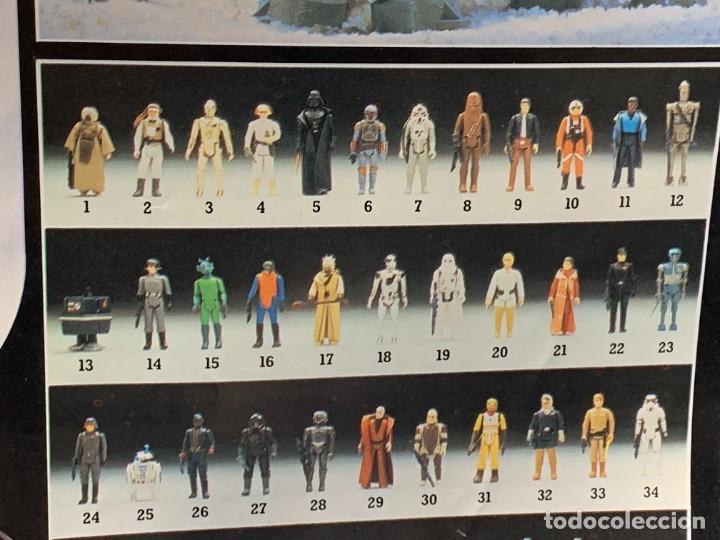 Figuras y Muñecos Star Wars: LOTE INSTRUCCIONES MILLENNIUM FALCON SCOUT WALKER VEHICLE CATALOGO POSTER RETURN OF THE JEDI 1983 - Foto 4 - 285239693