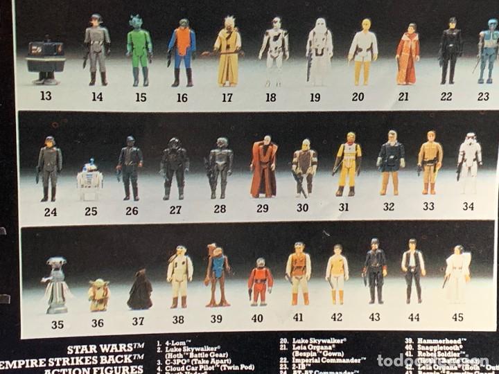 Figuras y Muñecos Star Wars: LOTE INSTRUCCIONES MILLENNIUM FALCON SCOUT WALKER VEHICLE CATALOGO POSTER RETURN OF THE JEDI 1983 - Foto 5 - 285239693