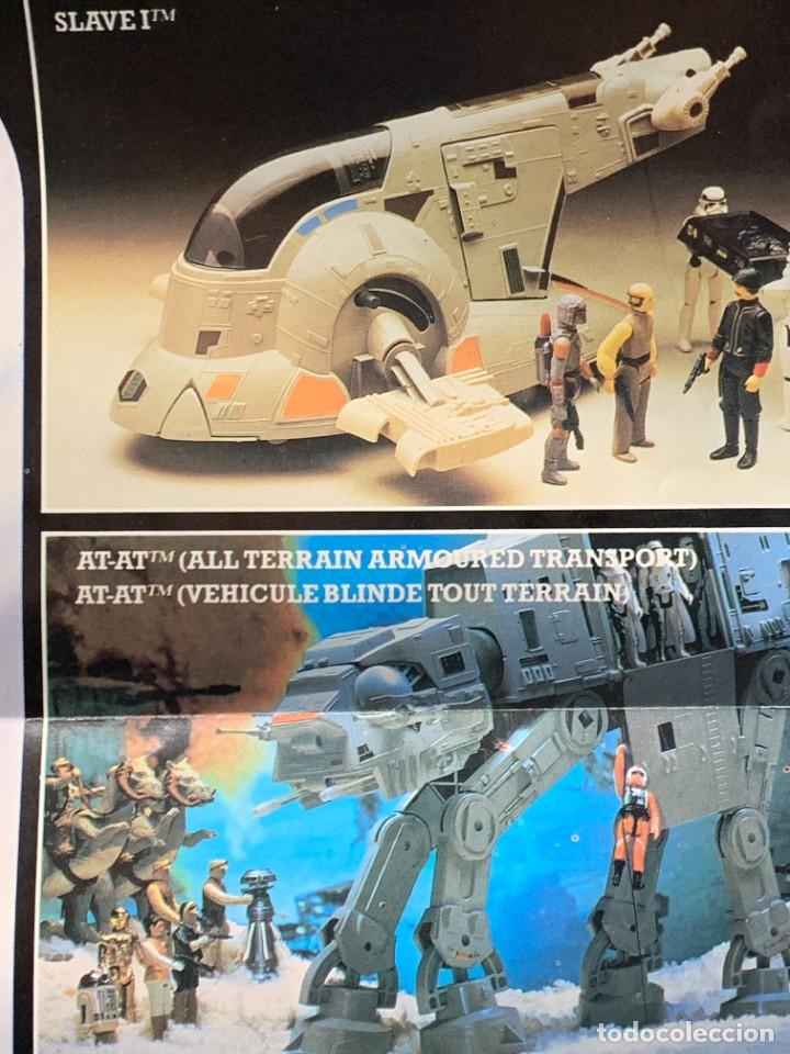 Figuras y Muñecos Star Wars: LOTE INSTRUCCIONES MILLENNIUM FALCON SCOUT WALKER VEHICLE CATALOGO POSTER RETURN OF THE JEDI 1983 - Foto 6 - 285239693