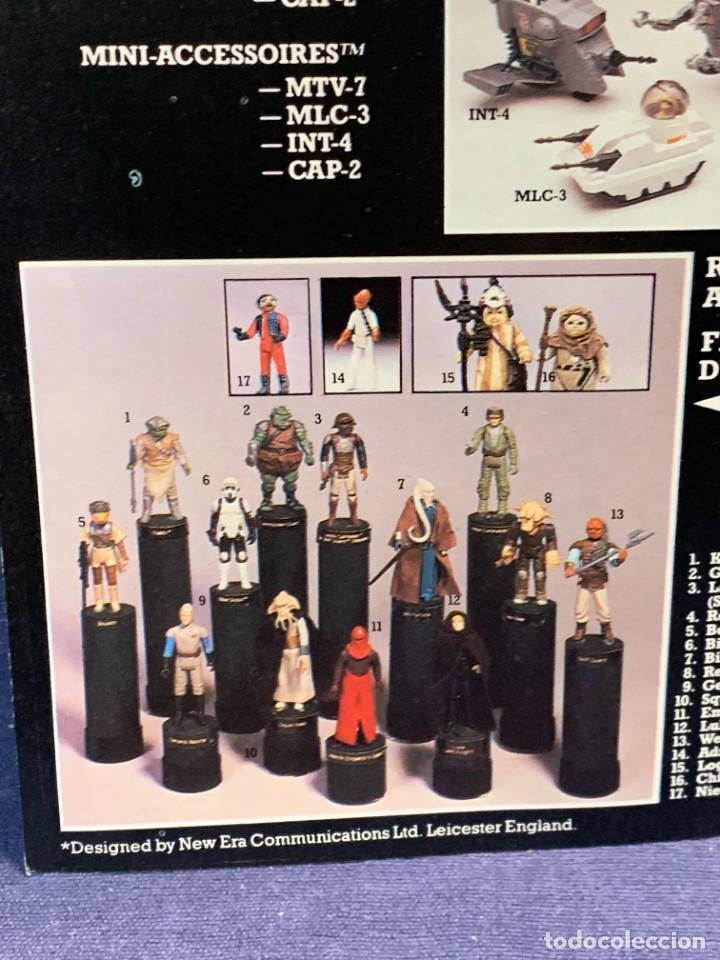 Figuras y Muñecos Star Wars: LOTE INSTRUCCIONES MILLENNIUM FALCON SCOUT WALKER VEHICLE CATALOGO POSTER RETURN OF THE JEDI 1983 - Foto 7 - 285239693