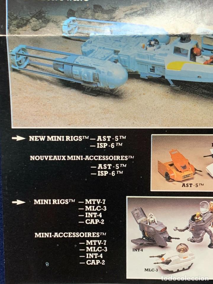 Figuras y Muñecos Star Wars: LOTE INSTRUCCIONES MILLENNIUM FALCON SCOUT WALKER VEHICLE CATALOGO POSTER RETURN OF THE JEDI 1983 - Foto 8 - 285239693