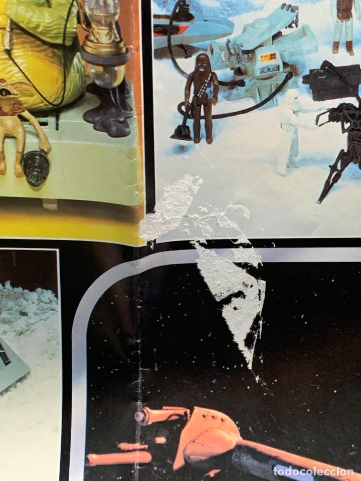 Figuras y Muñecos Star Wars: LOTE INSTRUCCIONES MILLENNIUM FALCON SCOUT WALKER VEHICLE CATALOGO POSTER RETURN OF THE JEDI 1983 - Foto 10 - 285239693