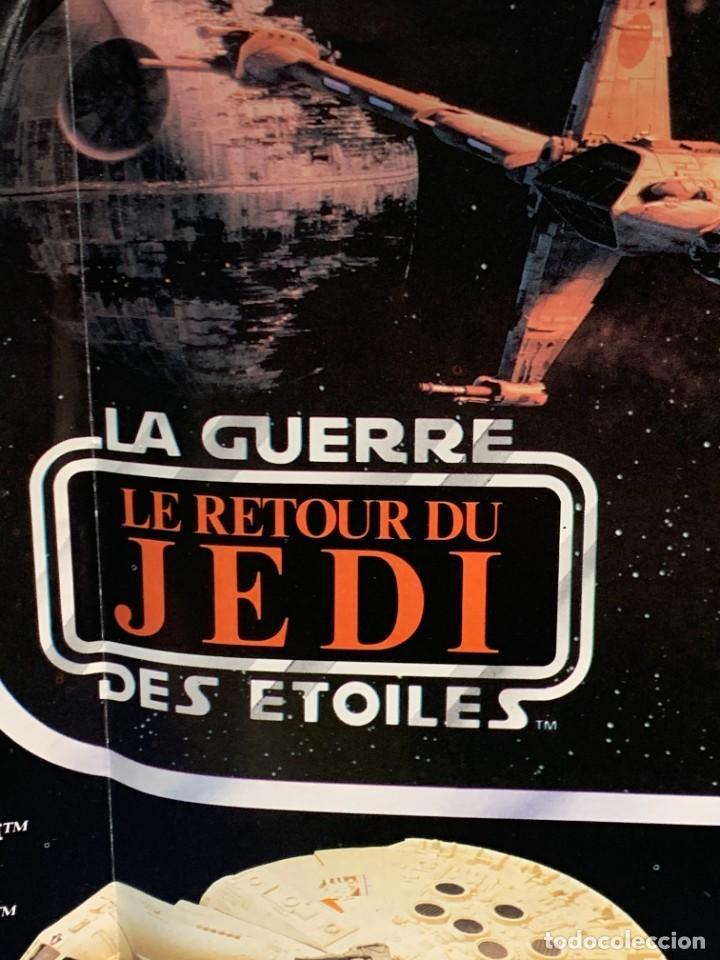 Figuras y Muñecos Star Wars: LOTE INSTRUCCIONES MILLENNIUM FALCON SCOUT WALKER VEHICLE CATALOGO POSTER RETURN OF THE JEDI 1983 - Foto 11 - 285239693