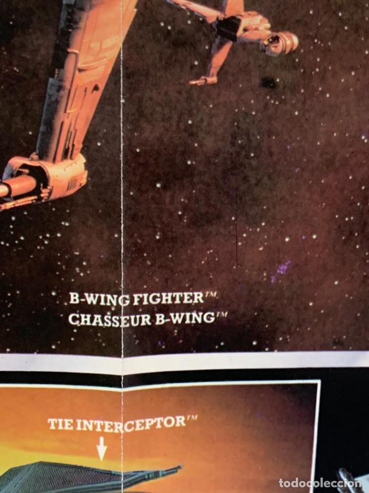 Figuras y Muñecos Star Wars: LOTE INSTRUCCIONES MILLENNIUM FALCON SCOUT WALKER VEHICLE CATALOGO POSTER RETURN OF THE JEDI 1983 - Foto 12 - 285239693