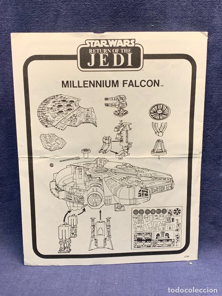 Figuras y Muñecos Star Wars: LOTE INSTRUCCIONES MILLENNIUM FALCON SCOUT WALKER VEHICLE CATALOGO POSTER RETURN OF THE JEDI 1983 - Foto 14 - 285239693