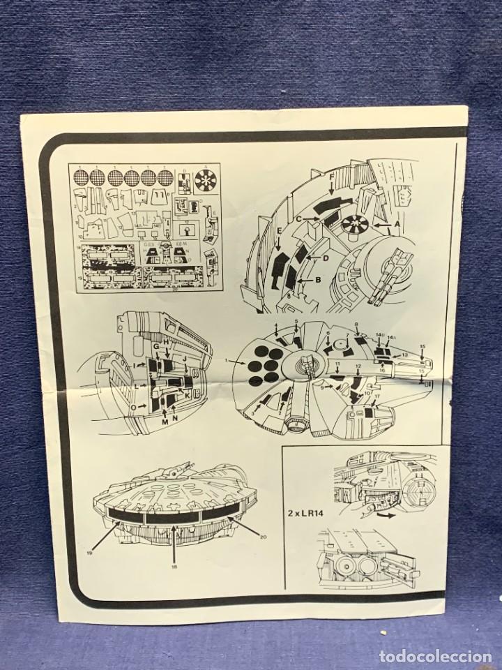 Figuras y Muñecos Star Wars: LOTE INSTRUCCIONES MILLENNIUM FALCON SCOUT WALKER VEHICLE CATALOGO POSTER RETURN OF THE JEDI 1983 - Foto 15 - 285239693