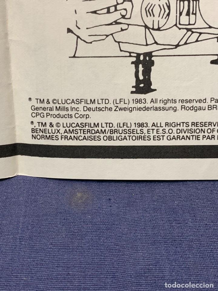 Figuras y Muñecos Star Wars: LOTE INSTRUCCIONES MILLENNIUM FALCON SCOUT WALKER VEHICLE CATALOGO POSTER RETURN OF THE JEDI 1983 - Foto 17 - 285239693