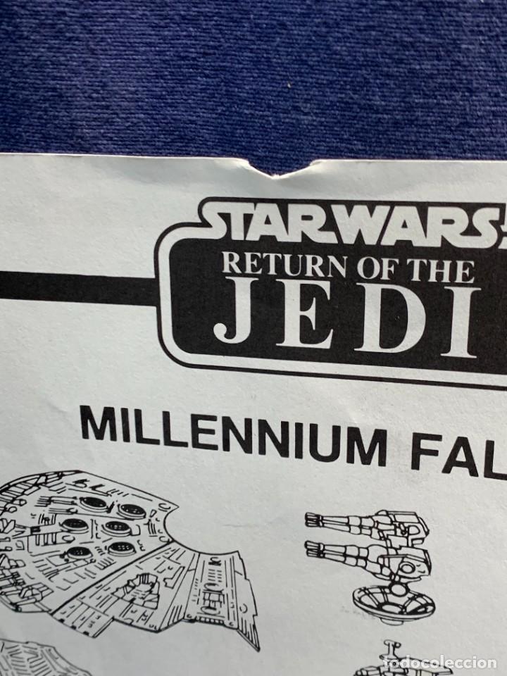 Figuras y Muñecos Star Wars: LOTE INSTRUCCIONES MILLENNIUM FALCON SCOUT WALKER VEHICLE CATALOGO POSTER RETURN OF THE JEDI 1983 - Foto 22 - 285239693