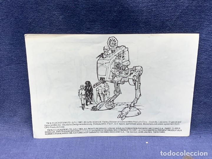 Figuras y Muñecos Star Wars: LOTE INSTRUCCIONES MILLENNIUM FALCON SCOUT WALKER VEHICLE CATALOGO POSTER RETURN OF THE JEDI 1983 - Foto 24 - 285239693