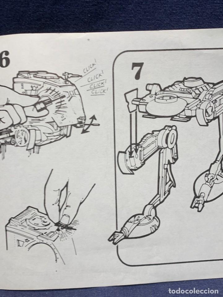 Figuras y Muñecos Star Wars: LOTE INSTRUCCIONES MILLENNIUM FALCON SCOUT WALKER VEHICLE CATALOGO POSTER RETURN OF THE JEDI 1983 - Foto 30 - 285239693