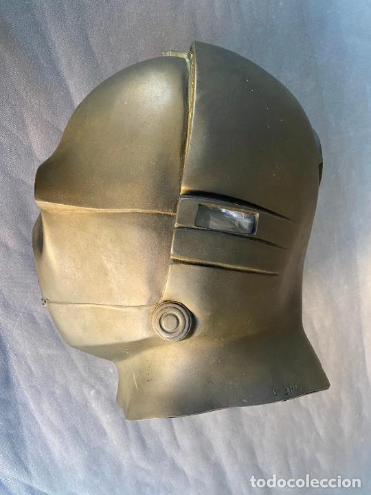 Figuras y Muñecos Star Wars: MASCARA DE LATEX DE C-3PO , STAR WARS , AÑO 1977 . Don Post Star Wars C-3PO latex mask . - Foto 6 - 286650988