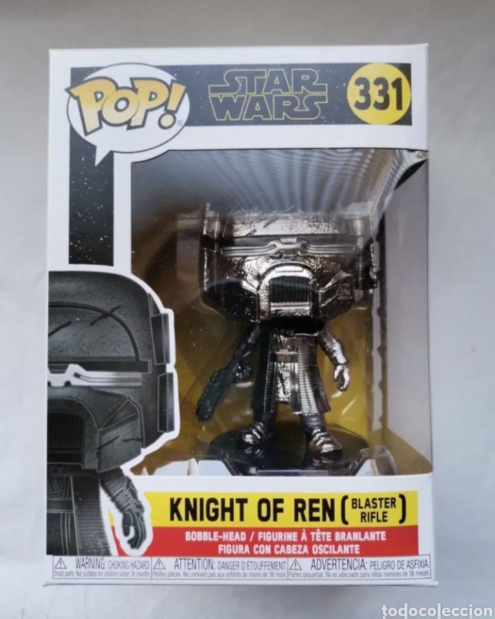 KNIGHT OF REN (BLASTER RIFLE) STAR WARS POP! 331 FIGURA DE CABEZA OSCILANTE (Juguetes - Figuras de Acción - Star Wars)