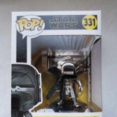 Figuras y Muñecos Star Wars: KNIGHT OF REN (BLASTER RIFLE) STAR WARS POP! 331 FIGURA DE CABEZA OSCILANTE. Lote 286734323