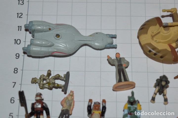 Figuras y Muñecos Star Wars: Micro Machines Star Wars / Lote de figuras y piezas variadas - ¡Mira fotos y detalles! - Foto 2 - 286783568