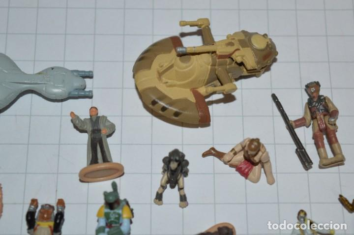 Figuras y Muñecos Star Wars: Micro Machines Star Wars / Lote de figuras y piezas variadas - ¡Mira fotos y detalles! - Foto 3 - 286783568