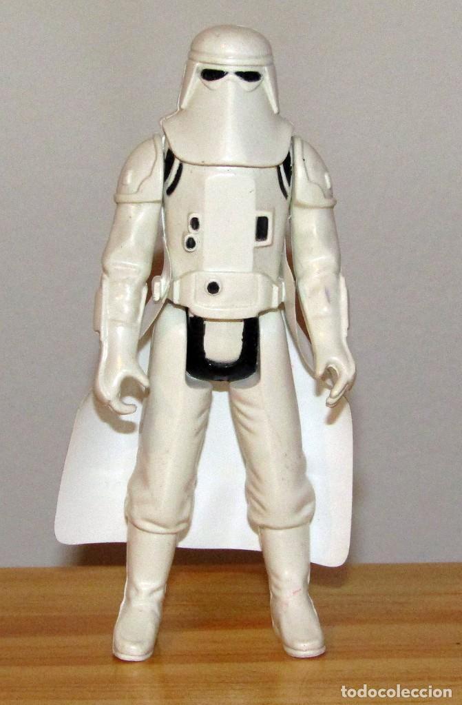 ANTIGUA FIGURA SNOWTROOPER STAR WARS - POCH PBP 1980 LFL - CON CAPA ORIGINAL - NO COO (Juguetes - Figuras de Acción - Star Wars)