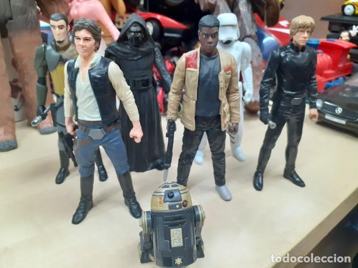 STAR WARS.LOTE DE 7 PERSONAJES.SKYWALKER,HAN SOLO,R2D2....LA GUERRA DE LAS GALAXIAS. (Juguetes - Figuras de Acción - Star Wars)