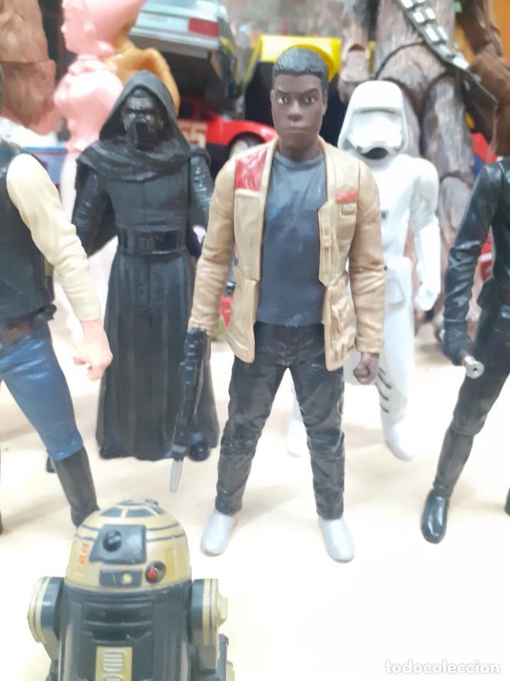 Figuras y Muñecos Star Wars: Star Wars.Lote de 7 personajes.Skywalker,Han Solo,R2D2....La Guerra de las Galaxias. - Foto 4 - 287356273