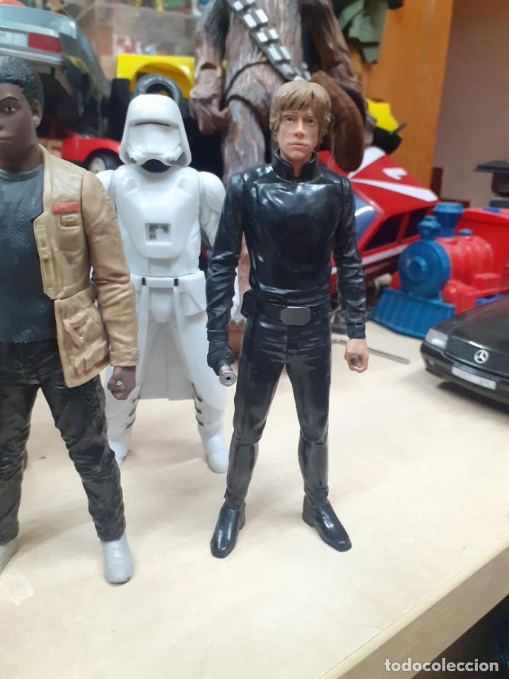 Figuras y Muñecos Star Wars: Star Wars.Lote de 7 personajes.Skywalker,Han Solo,R2D2....La Guerra de las Galaxias. - Foto 5 - 287356273