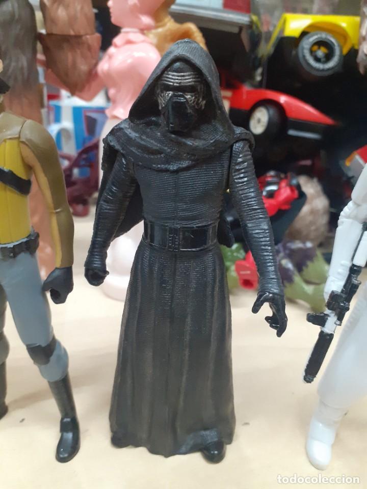 Figuras y Muñecos Star Wars: Star Wars.Lote de 7 personajes.Skywalker,Han Solo,R2D2....La Guerra de las Galaxias. - Foto 7 - 287356273