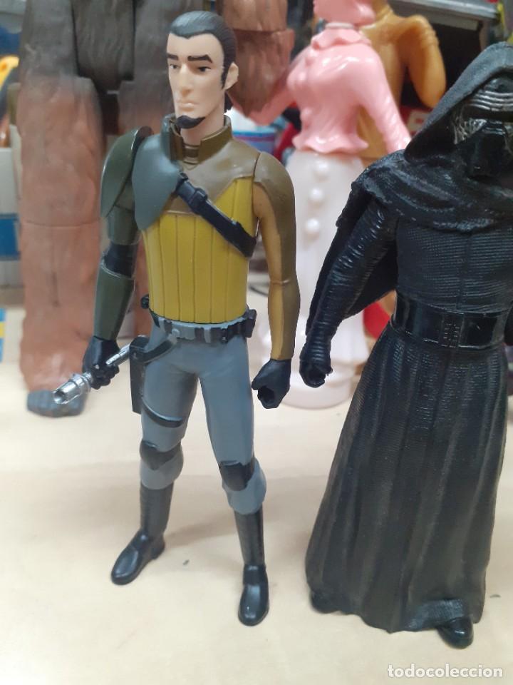 Figuras y Muñecos Star Wars: Star Wars.Lote de 7 personajes.Skywalker,Han Solo,R2D2....La Guerra de las Galaxias. - Foto 8 - 287356273