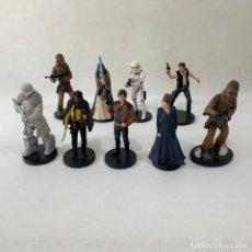 Figuras y Muñecos Star Wars: LOTE 9 FIGURAS STAR WARS - DISNEY - LUCAS FILM. Lote 287552028