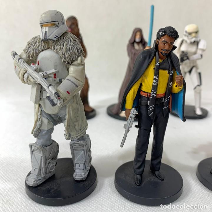 Figuras y Muñecos Star Wars: LOTE 9 FIGURAS STAR WARS - DISNEY - LUCAS FILM - Foto 2 - 287552028
