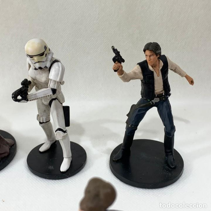 Figuras y Muñecos Star Wars: LOTE 9 FIGURAS STAR WARS - DISNEY - LUCAS FILM - Foto 3 - 287552028
