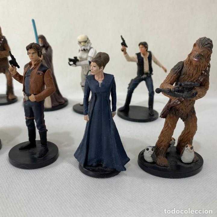 Figuras y Muñecos Star Wars: LOTE 9 FIGURAS STAR WARS - DISNEY - LUCAS FILM - Foto 4 - 287552028