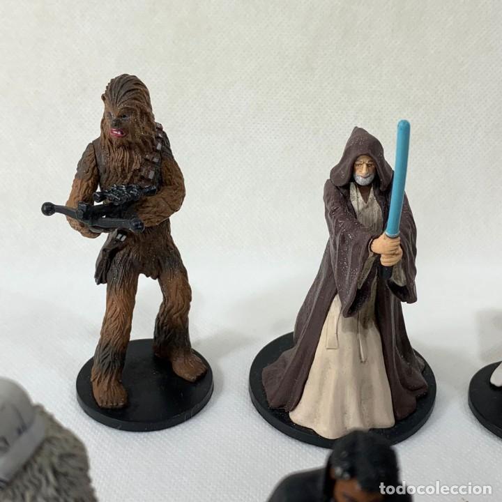Figuras y Muñecos Star Wars: LOTE 9 FIGURAS STAR WARS - DISNEY - LUCAS FILM - Foto 5 - 287552028